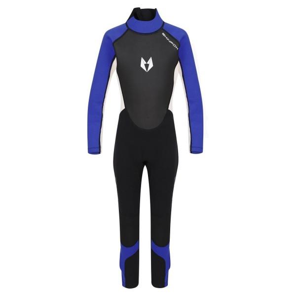 SKINFOX SCOUT 1-16 J. Kinder Full Suit Neoprenanzug Schwimmanzug blau
